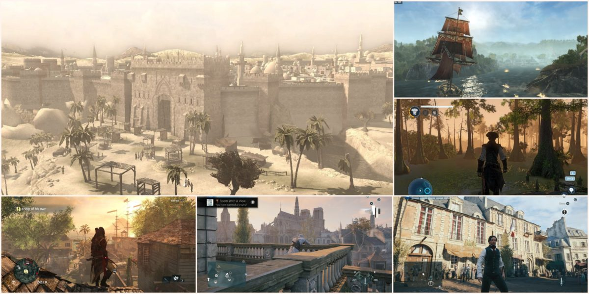 Assassins Creed Locations